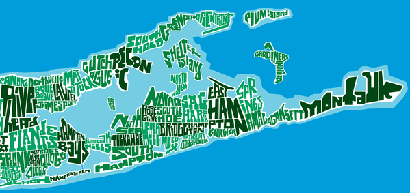 James McDonald East End Typography Map